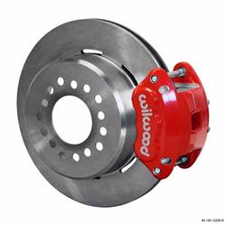Wilwood 140-12215-R D154 Rear Parking Brake Kit, Red, Chevy 12-Bolt