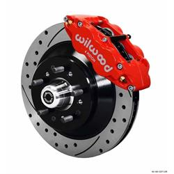 Wilwood 140-12278-DR FNSL6R 12.88 Inch Front Disc Brake Kit, 70-79 GM