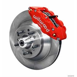 Wilwood 140-12282-R FNSL6R 12.88 Front Disc Brake Kit, 1962-72 Mopar