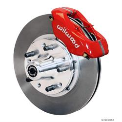 Wilwood 140-12305-R FDLI Front Brake Kit, Heidts Tri-5 Drop Spindle