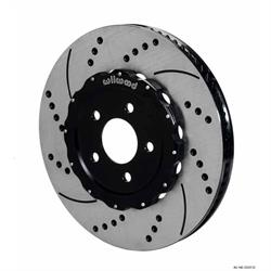 Wilwood 140-12337-D Promatrix Front Disc Brake Rotor Kit,07-Up Mustang