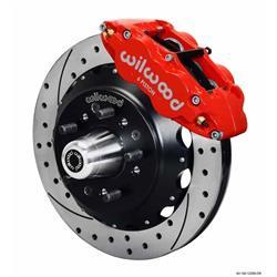 Wilwood 140-12465-DR FNSL6R Front Disc Brake Kit,59-64 Impala/Corvette