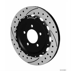 Wilwood 140-12468-D Promatrix Rear Disc Brake Rotor Kit, 05-Up Mustang