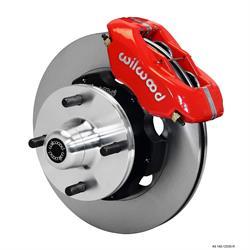 Wilwood 140-12535-R FDLI Pro Series Front Brake Kit, 63-66 Ford/Mercury