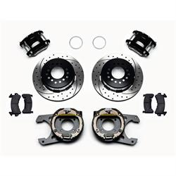 Wilwood 140-12570-D D154 Rear Brake Kit, 12 Bolt, 2.75 Off, Stag Shock