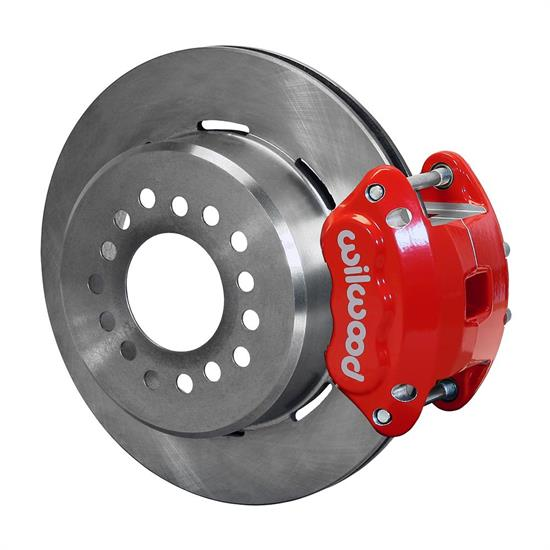 Wilwood 140-12570-R D154 Rear Brake Kit, 12 Bolt, 2.75 Off, Stag Shock