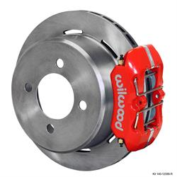 Wilwood 140-12589-R FDLI LP Rear Brake Kit, Ford 7.5 Rear, 2.80 Off