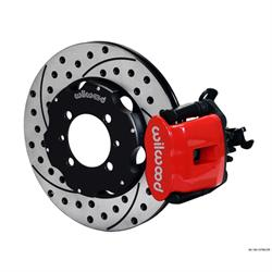 Wilwood 140-12768-DR CPB 11 Inch Rear Disc Brake Kit, 2012-Up Fiat 500