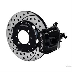 Wilwood 140-12768-D CPB 11 Inch Rear Disc Brake Kit, 2012-Up Fiat 500