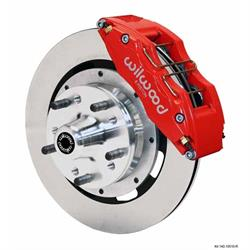 Wilwood 140-12836-R DP6 12.19 Inch Front Disc Brake Kit, 1979-90 GM