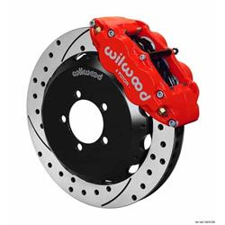 Wilwood 140-12870-DR FNSL6R Front Disc Brake Kit, 2012-Up Scion/Subaru