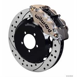 Wilwood 140-12874-DN FNSL6R 13.06 Front Disc Brake Kit, 1999-12 Subaru