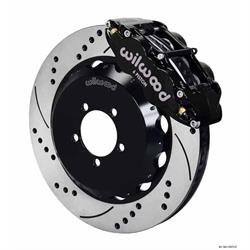 Wilwood 140-12875-D FNSL6R 14 Inch Front Disc Brake Kit, 99-12 Subaru