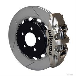 Wilwood 140-12932-N AERO4 14.25 Rear Disc Brake Kit, 08-09 Pontiac G8