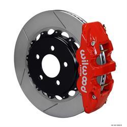 Wilwood 140-12932-R AERO4 14.25 Rear Disc Brake Kit, 08-09 Pontiac G8