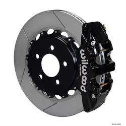 Wilwood 140-12932 AERO4 14.25 Rear Disc Brake Kit, 2008-09 Pontiac G8