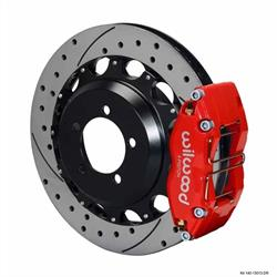 Wilwood 140-13013-DR DPR 12.88 Inch Rear Brake Kit, 2006-07 Subaru WRX