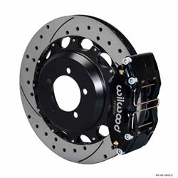 Wilwood 140-13013-D DPR 12.88 Inch Rear Brake Kit, 2006-07 Subaru WRX