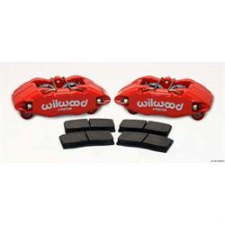 Wilwood 140-13029-R DPHA Front Caliper/Brake Pad Kit, Honda/Acura, Red
