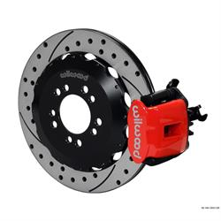Wilwood 140-13031-DR CPB Rear Brake Kit, 2013-Up Ford Focus ST w/Lines