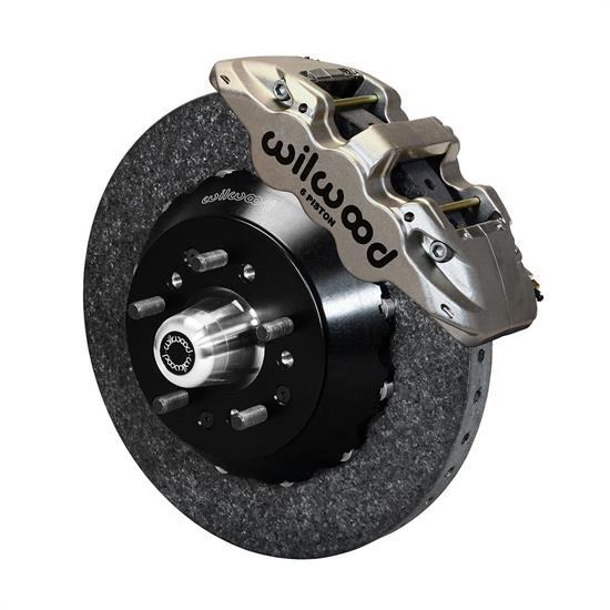 Wilwood 140-13145-CSICN AERO6 Dynamic Front Brake Kit, WWE Pro Spindle