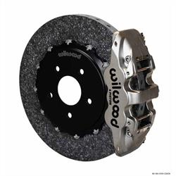Wilwood 140-13161-CSICN AERO4 Rear Brake Kit, 04-Up Corvette/Cadillac