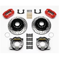 Wilwood 140-13207-DR Dynapro Dust Boot Rear Brake Kit, New Big Ford