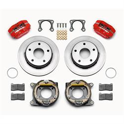 Wilwood 140-13322-R Dynapro Lug Mount Rear Brake Kit, Big Ford, Bronco