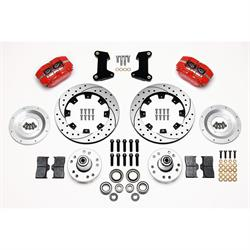 Wilwood 140-13378-DR DP-DB Front Brake Kit, 1974-80 Pinto/Mustang II