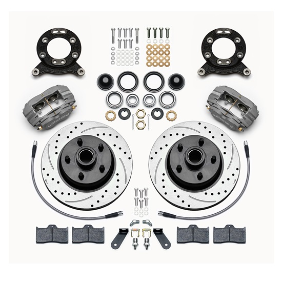 Wilwood 140-13477-D Classic Series Dynalite Front Disc Brake Kit, 11 Inch
