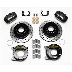 Wilwood 140-13511-D FDLI Rear Brake Kit, BOP Axle, 2.75 Bearing,2.75 Off