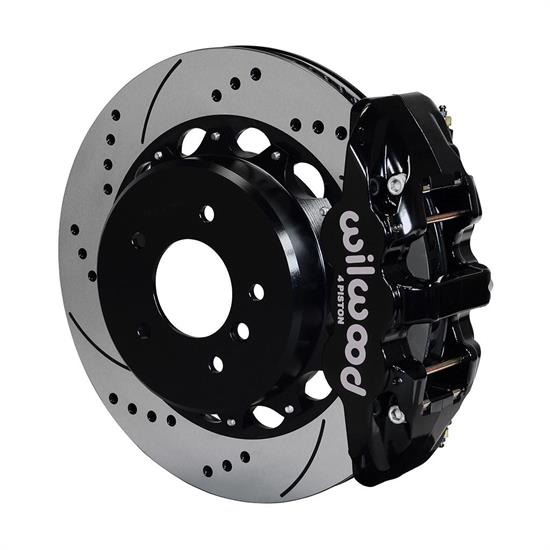 Wilwood 140-13583-D AERO4 Rear Disc Parking Brake Kit, 14 Inch