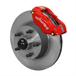 Wilwood 140-13653-R Classic Series Brake Kit, 57-68 Ford/Mercury/Edsel
