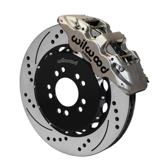 Wilwood 140-13697-DN AERO6 14.25 Inch Front Brake Kit