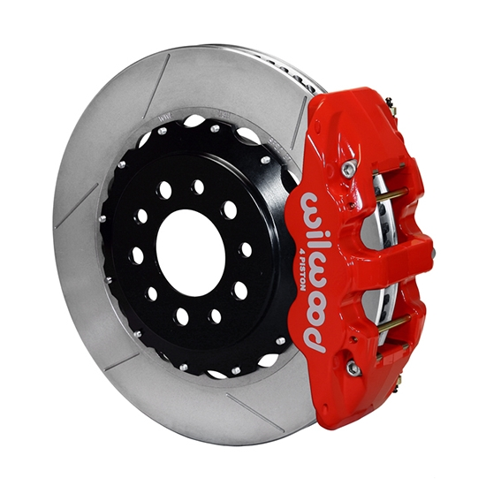 Wilwood 140-13698-R AERO4 14.25 Inch Rear Brake Kit