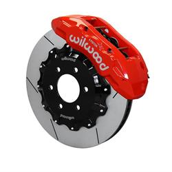 Wilwood 140-13865-R TX6R Big Brake Truck Front Brake Kit, Red