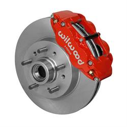 Wilwood 140-14474-R Superlite 6R Front Brake Kit,Red,64-70 GM C10