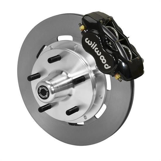 Wilwood 140-14530 Forged Dynalite Big Brake Front Brake Kit,Black