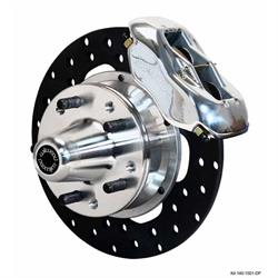 Wilwood 140-1501-DP FDL Pro Series Drag Disc Brake Kit, 1937-49 Ford