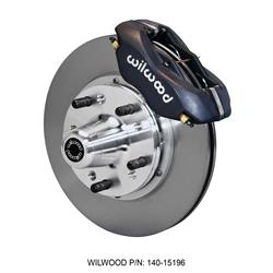 Wilwood 140-15196 Forged Dynalite Pro Series Front Brake Kit, Black
