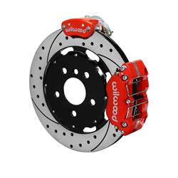 Wilwood 140-15219-DR Dynapro Radial-MC4 Rear Parking Brake Kit, Red