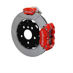 Wilwood 140-15219-R Dynapro Radial-MC4 Rear Parking Brake Kit, Red
