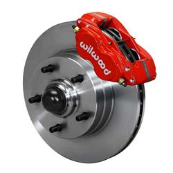 Wilwood 140-15272-R Classic Series Front Dynalite Brake Kit,  Red