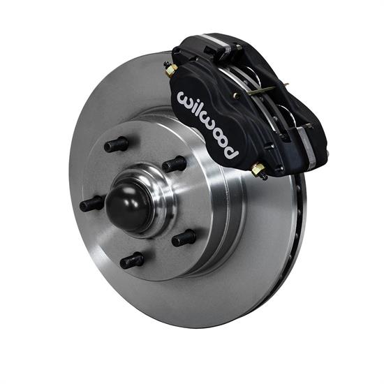 Wilwood 140-15272  Classic Series Front Dynalite Brake Kit, Black