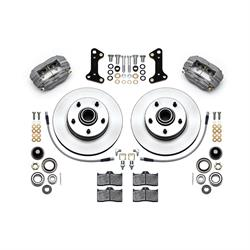Wilwood 140-15272 Classic Series Front Dynalite Brake Kit, Gray