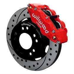 Wilwood 140-15302-DR Superlite 4R Front Brake Kit, Drilled, C10/15
