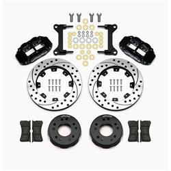 Wilwood 140-15302-D Superlite 4R Front Brake Kit, Drilled, C10/15