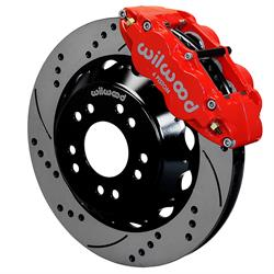 Wilwood 140-15304-DR Superlite 6R Front Brake Kit, 14 Inch, C10/15