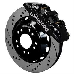 Wilwood 140-15305-D Aero6 Front Brake Kit, 14 Inch, Drilled, C10/15