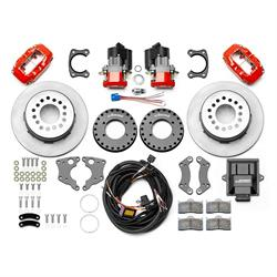 Wilwood 140-15843-R Dynalite Electronic Parking Brake Kit, Red